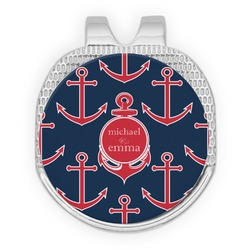 All Anchors Golf Ball Marker - Hat Clip