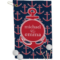 All Anchors Golf Towel - Full Print (Personalized)
