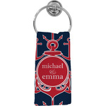 All Anchors Hand Towel - Full Print (Personalized)