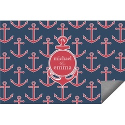 All Anchors Indoor / Outdoor Rug - 3'x5' (Personalized)
