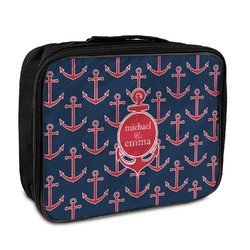 All Anchors Insulated Lunch Bag (Personalized)