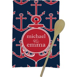 All Anchors Kitchen Towel - Full Print (Personalized)