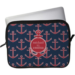 """All Anchors Laptop Sleeve / Case - 12"""" (Personalized)"""