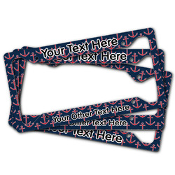 All Anchors License Plate Frame (Personalized)