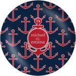 All Anchors Melamine Plate - 8