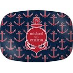 All Anchors Melamine Platter (Personalized)