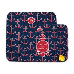 All Anchors Memory Foam Bath Mat (Personalized)
