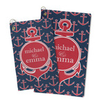 All Anchors Microfiber Golf Towel (Personalized)