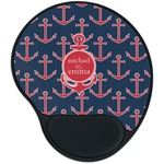 All Anchors Mouse Pad with Wrist Support
