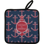 All Anchors Pot Holder (Personalized)