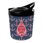 All Anchors Plastic Ice Bucket (Personalized)