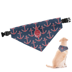 All Anchors Dog Bandana - Large (Personalized)