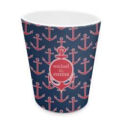 All Anchors Plastic Tumbler 6oz (Personalized)