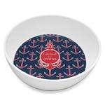 All Anchors Melamine Bowl 8oz (Personalized)