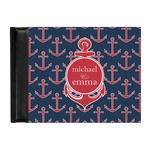 All Anchors Genuine Leather Guest Book (Personalized)