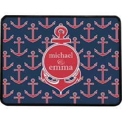 All Anchors Rectangular Trailer Hitch Cover (Personalized)