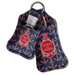 All Anchors Hand Sanitizer & Keychain Holder (Personalized)