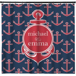 All Anchors Shower Curtain (Personalized)