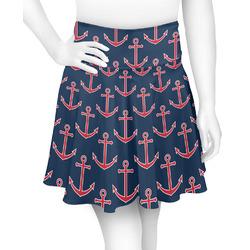 All Anchors Skater Skirt (Personalized)