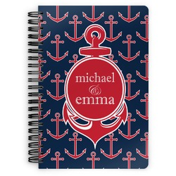 All Anchors Spiral Notebook (Personalized)