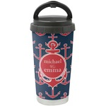 All Anchors Stainless Steel Travel Mug (Personalized)