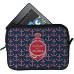 All Anchors Tablet Case / Sleeve (Personalized)