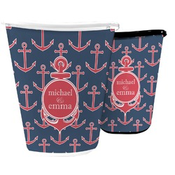 All Anchors Waste Basket (Personalized)