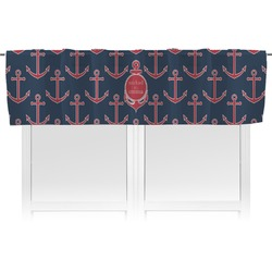 All Anchors Valance (Personalized)