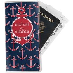 All Anchors Travel Document Holder