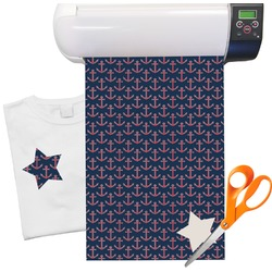 "All Anchors Heat Transfer Vinyl Sheet (12""x18"")"
