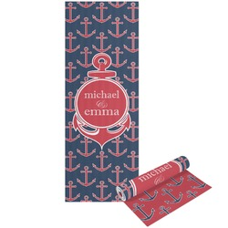 All Anchors Yoga Mat - Printed Front and Back (Personalized)