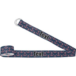 All Anchors Yoga Strap (Personalized)