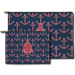 All Anchors Zipper Pouch (Personalized)