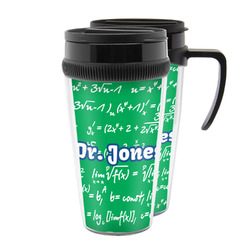 Equations Acrylic Travel Mugs (Personalized)