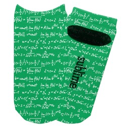 Equations Adult Ankle Socks (Personalized)