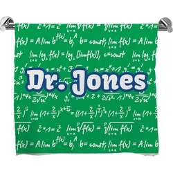 Equations Full Print Bath Towel (Personalized)