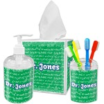 Equations Bathroom Accessories Set (Personalized)