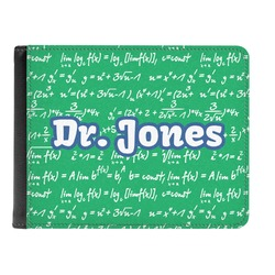 Equations Genuine Leather Men's Bi-fold Wallet (Personalized)
