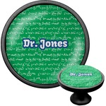 Equations Cabinet Knob (Black) (Personalized)