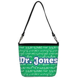 Equations Bucket Bag w/ Genuine Leather Trim (Personalized)