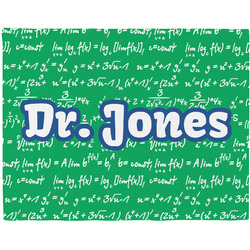 Equations Woven Fabric Placemat - Twill w/ Name or Text