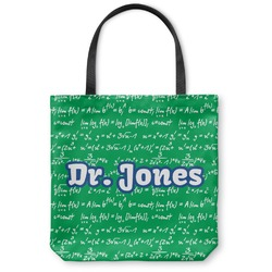 Equations Canvas Tote Bag (Personalized)