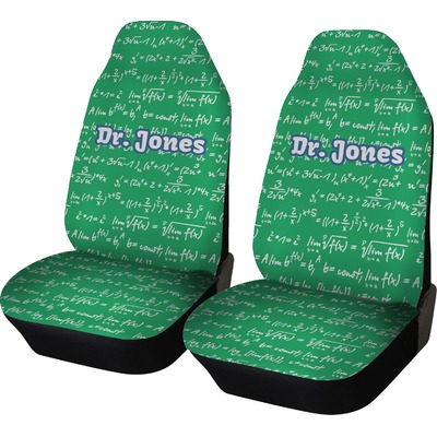 Equations Car Seat Covers (Set of Two) (Personalized)