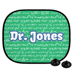Equations Car Side Window Sun Shade (Personalized)