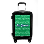 Equations Carry On Hard Shell Suitcase (Personalized)