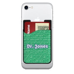Equations Cell Phone Credit Card Holder (Personalized)