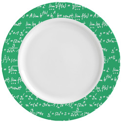 Equations Ceramic Dinner Plates (Set of 4) (Personalized)