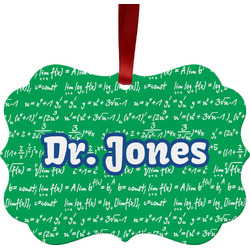 Equations Ornament (Personalized)