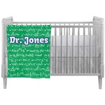 Equations Crib Comforter / Quilt (Personalized)