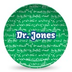 Equations Microwave Safe Plastic Plate - Composite Polymer (Personalized)